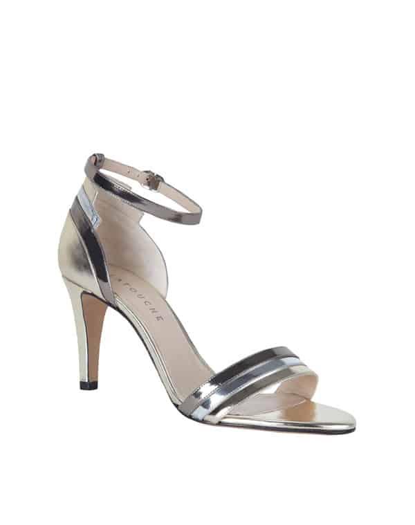 sandalia plata latouche