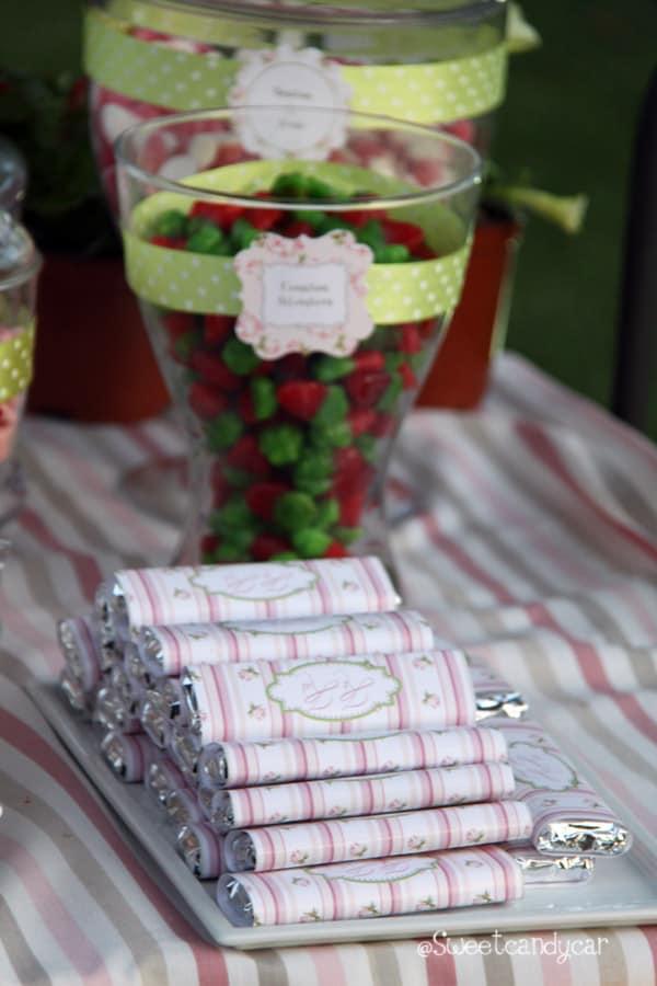 Detalle chocolatinas boda Belen