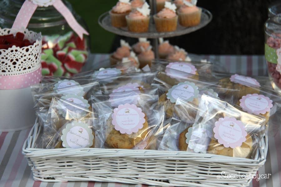 Detalle cookies boda Belen