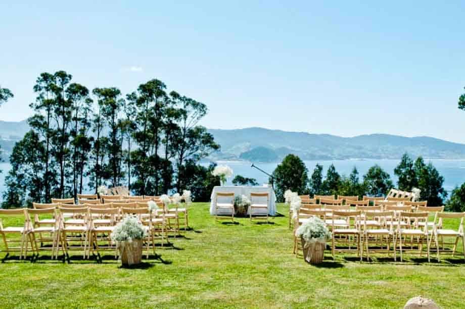 boda a aire libre