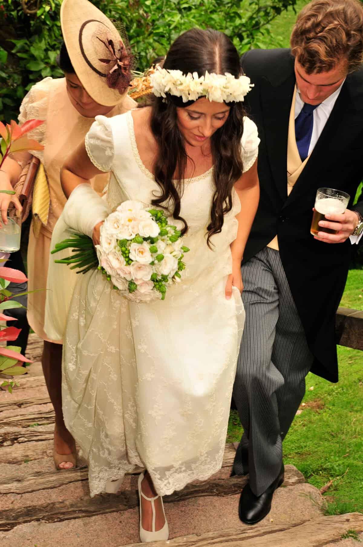 6c125ea9e La novia de la corona de flores - Las bodas de Tatín