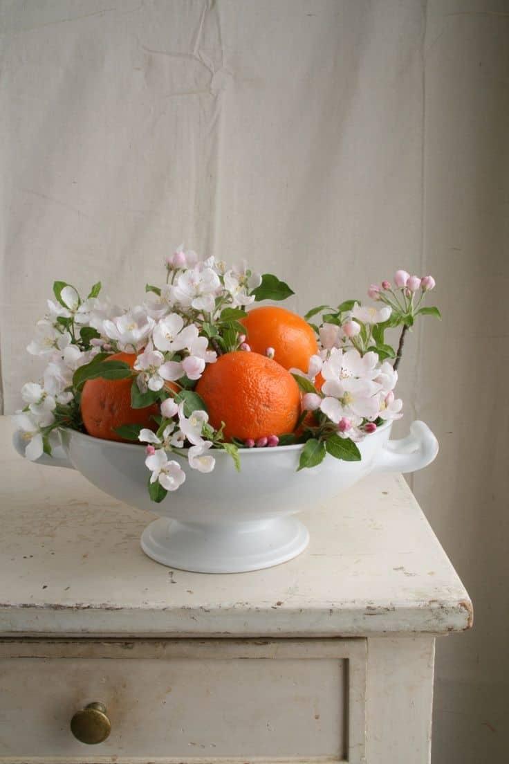 decoracion naranjas