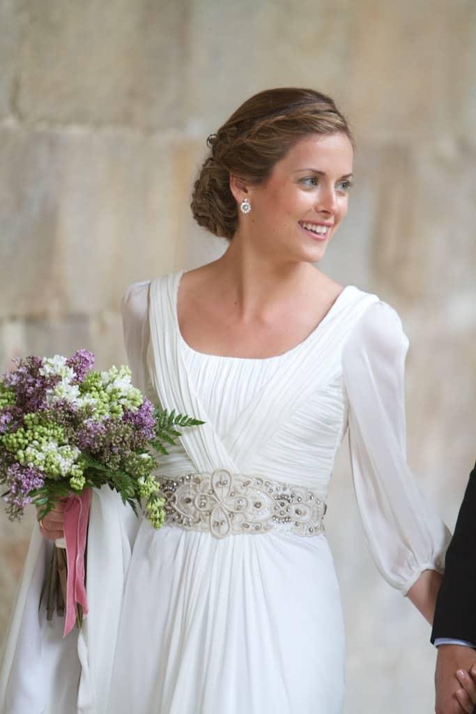 La novia del cinturón rosa empolvado - Las bodas de Tatín