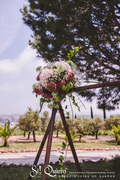 flores ceremonia