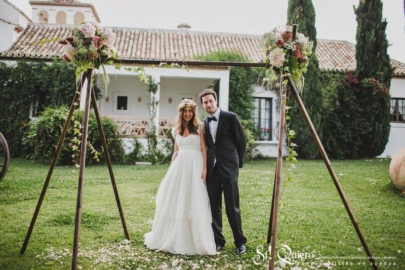 la novia del vestido romántico - las bodas de tatín