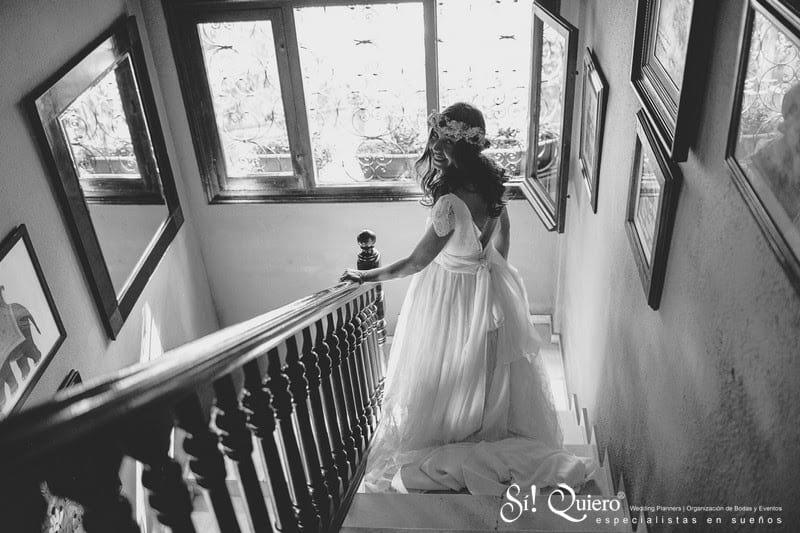 vestido escalera