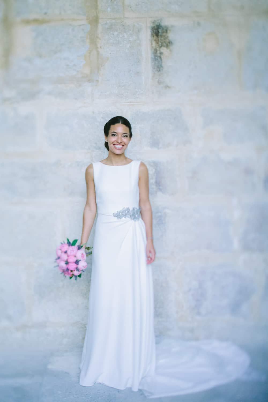 La novia del ramo de lavanda y peonias - Las bodas de Tatín