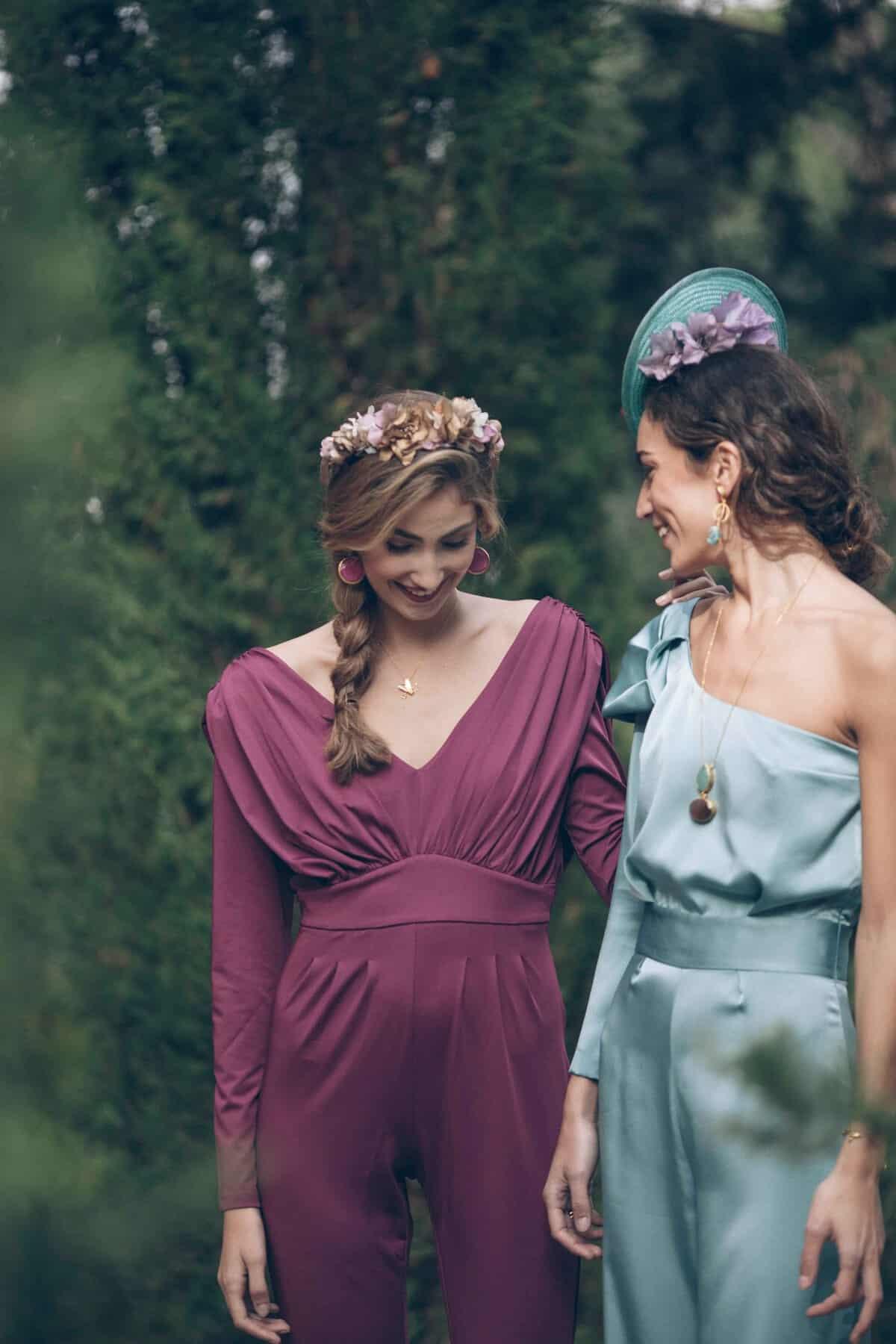 Increíble Vestidos De Coral Para Invitados De La Boda Ornamento ...