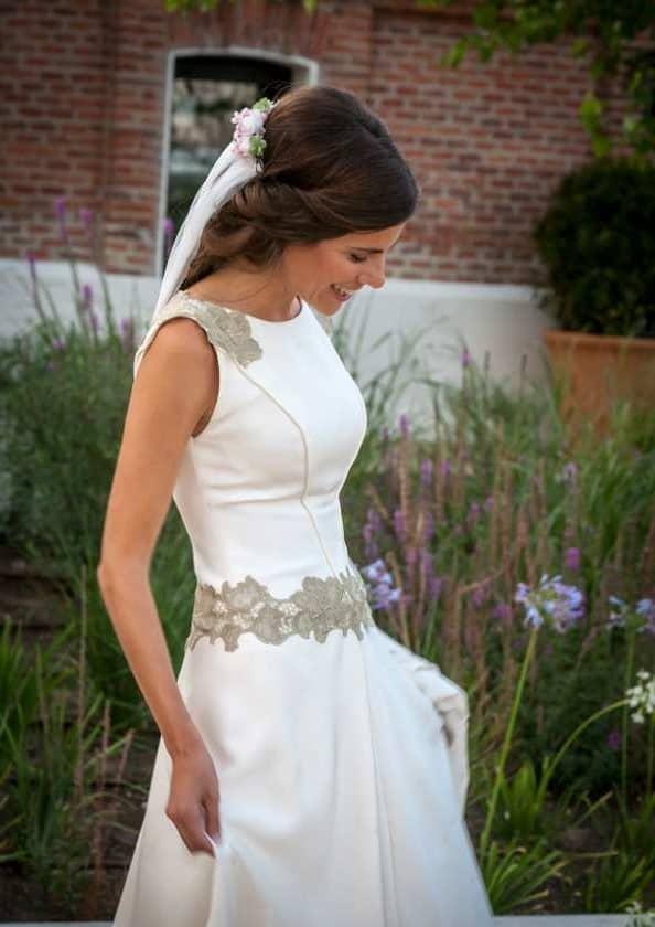 la novia del encaje verde hoja seca - las bodas de tatín