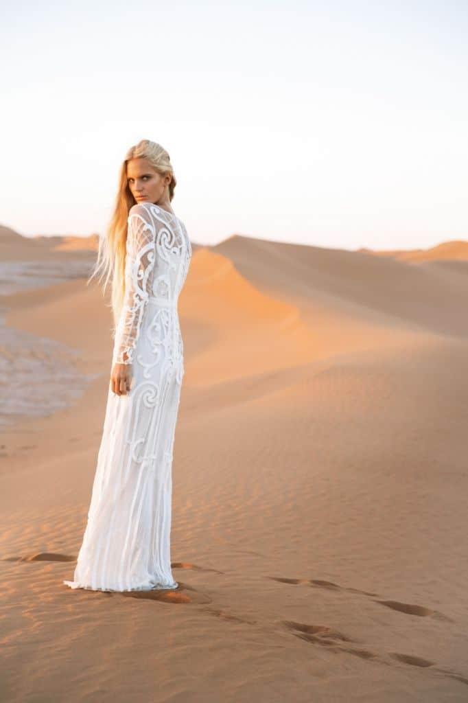 novia desierto