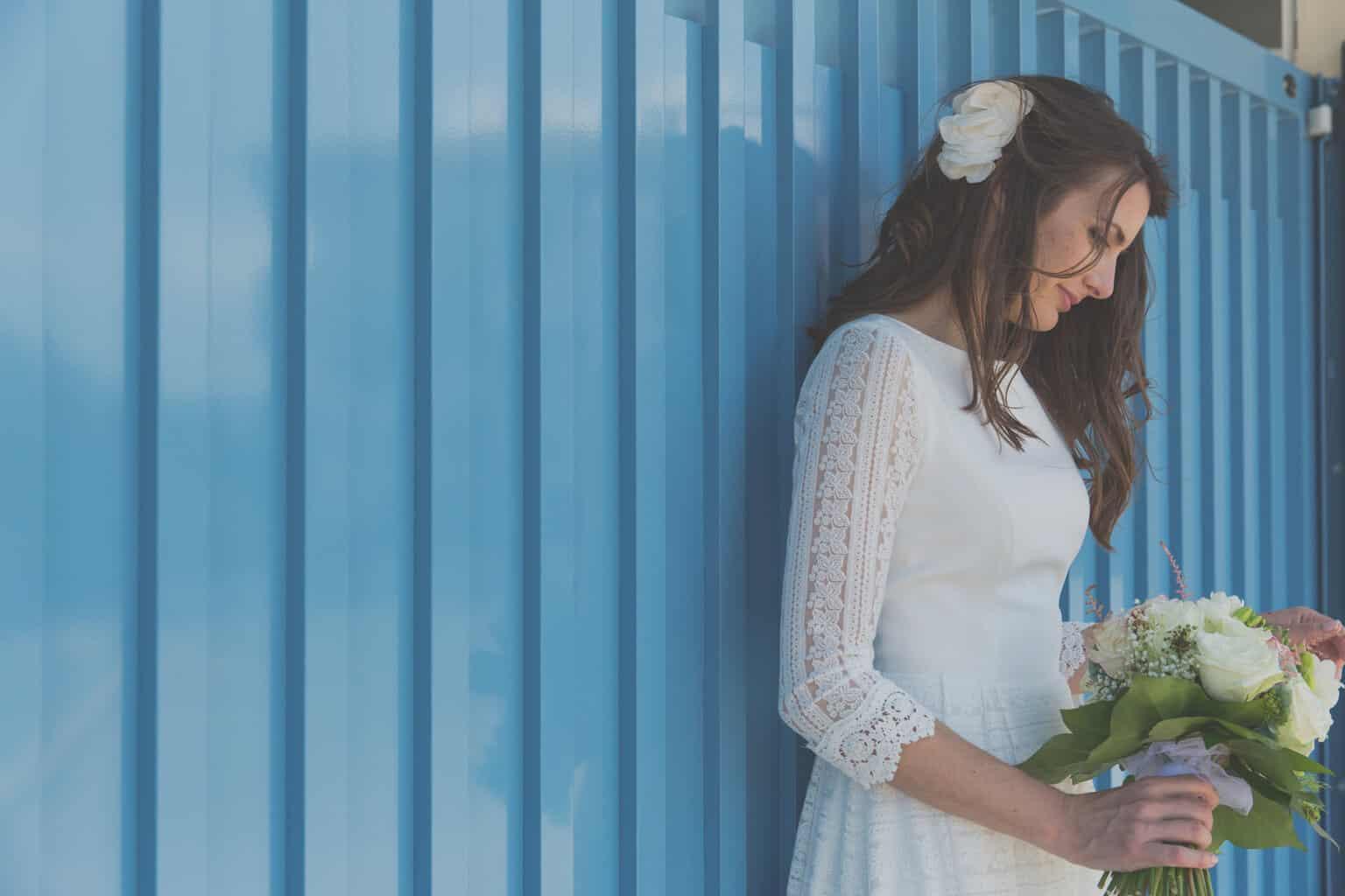 La novia de la vespa mint - Las bodas de Tatín