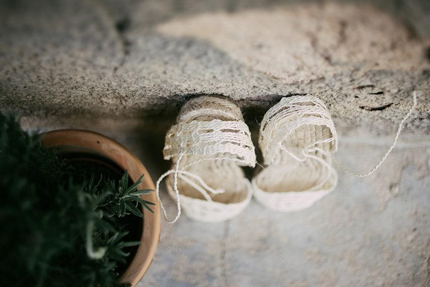 100% autentico f6d2e 9a76c La novia de las alpargatas ibicencas - Las bodas de Tatín