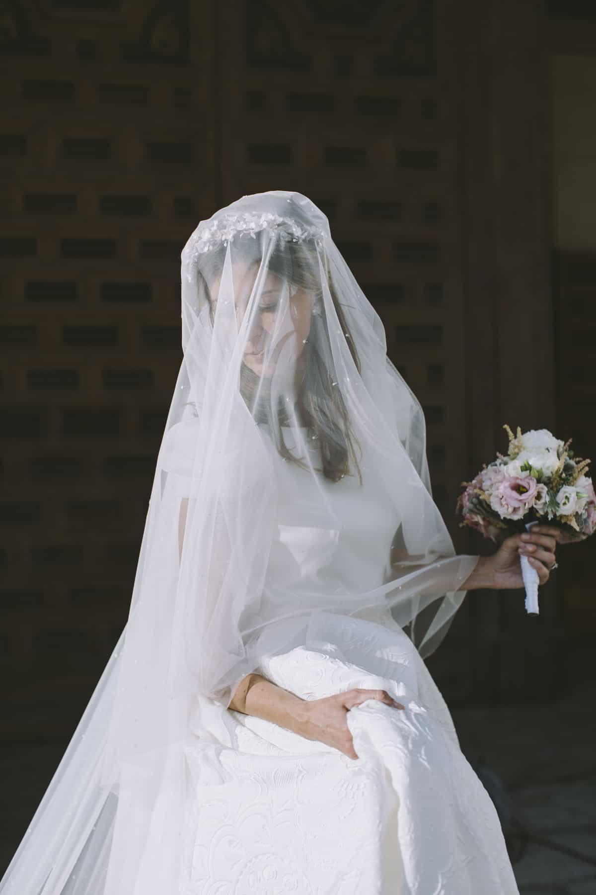 foto de La novia velada de plumeti Las bodas de Tatín