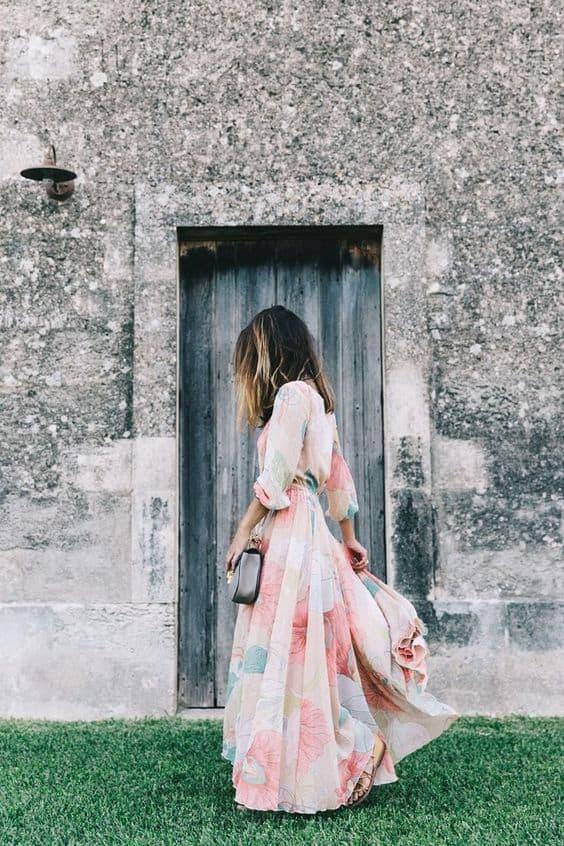 Vestidos largos para bodas en el dia