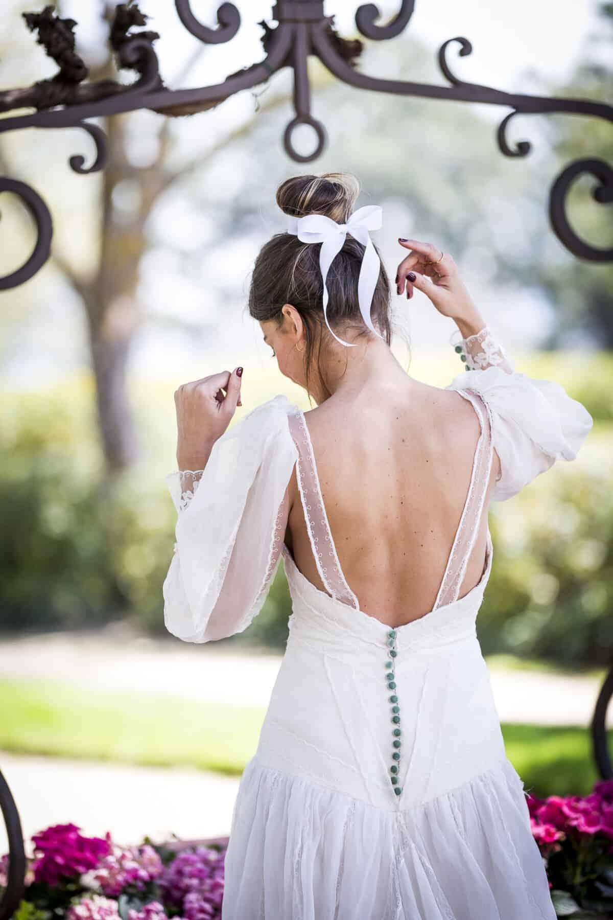 b7664644b Los peinados de novia de esta temporada  lazos - Las bodas de Tatín