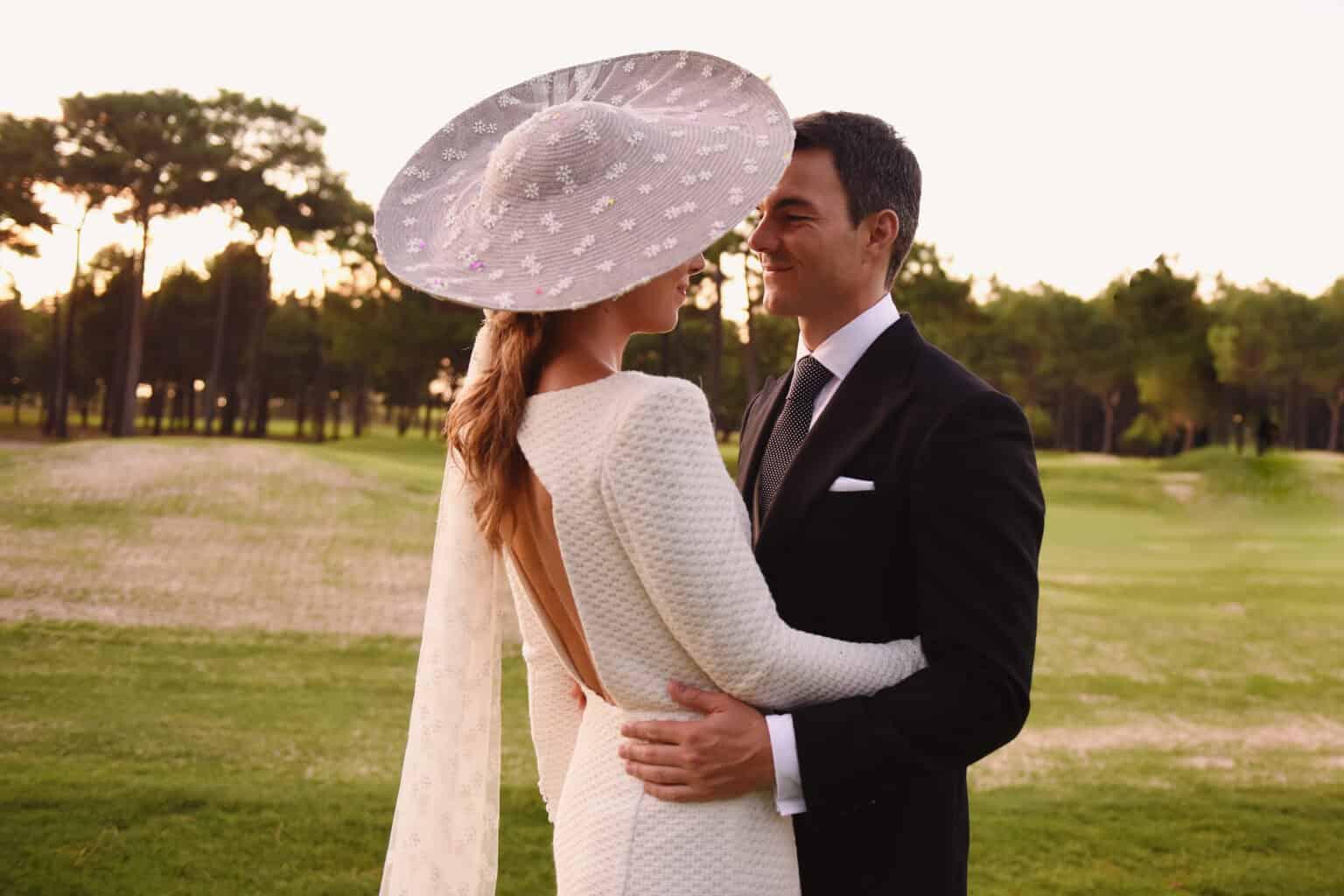 20b4414028 La novia de la pamela velo - Las bodas de Tatín